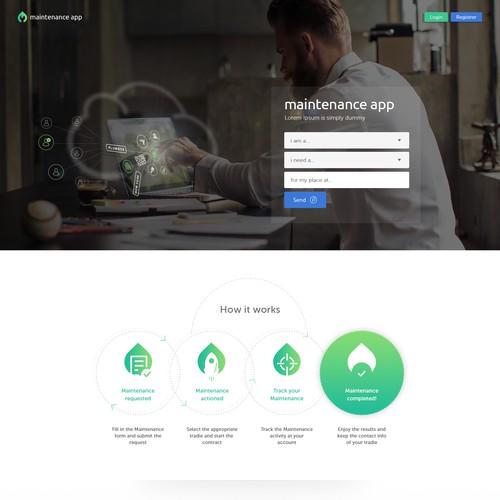 Design for Maintenance App