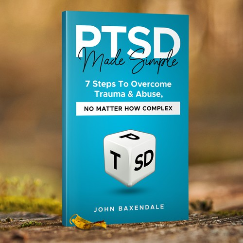 A powerful standout PTSD book cover