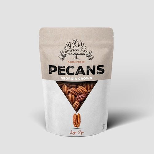 Pecan Retail Doypack Packaging