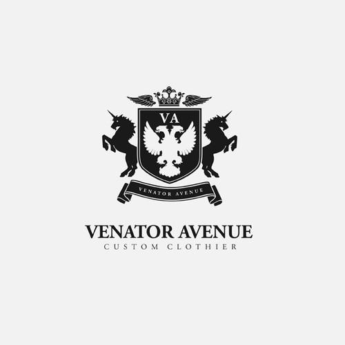 Venator Avenue logo design