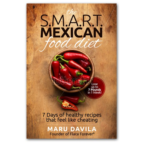 Book cover design for Maru Davila