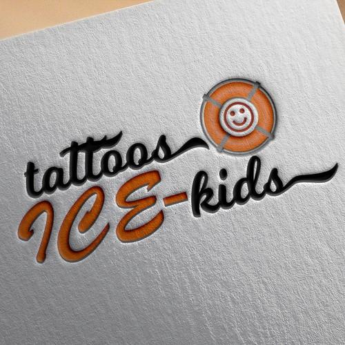 Tattoos Ice-kids logo