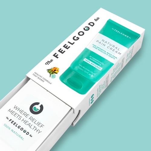 Packaging design for retail cream