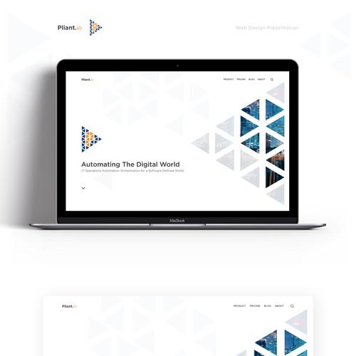 Landing Page design proposal...
