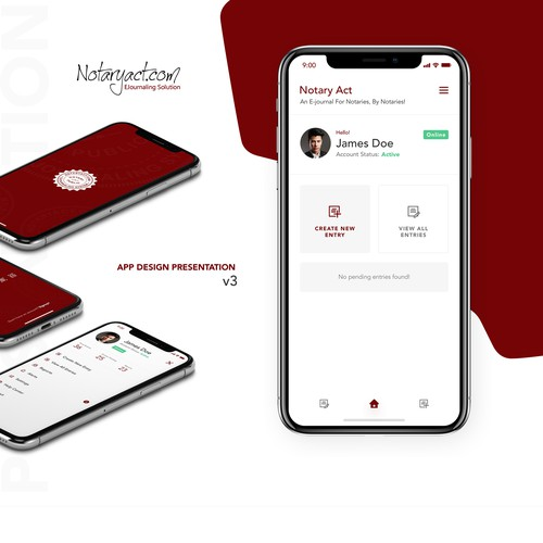 Notary Act App Redesign