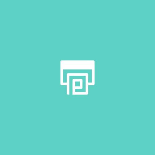 printer + letter P