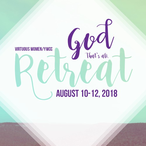 Christian Retreat Poster