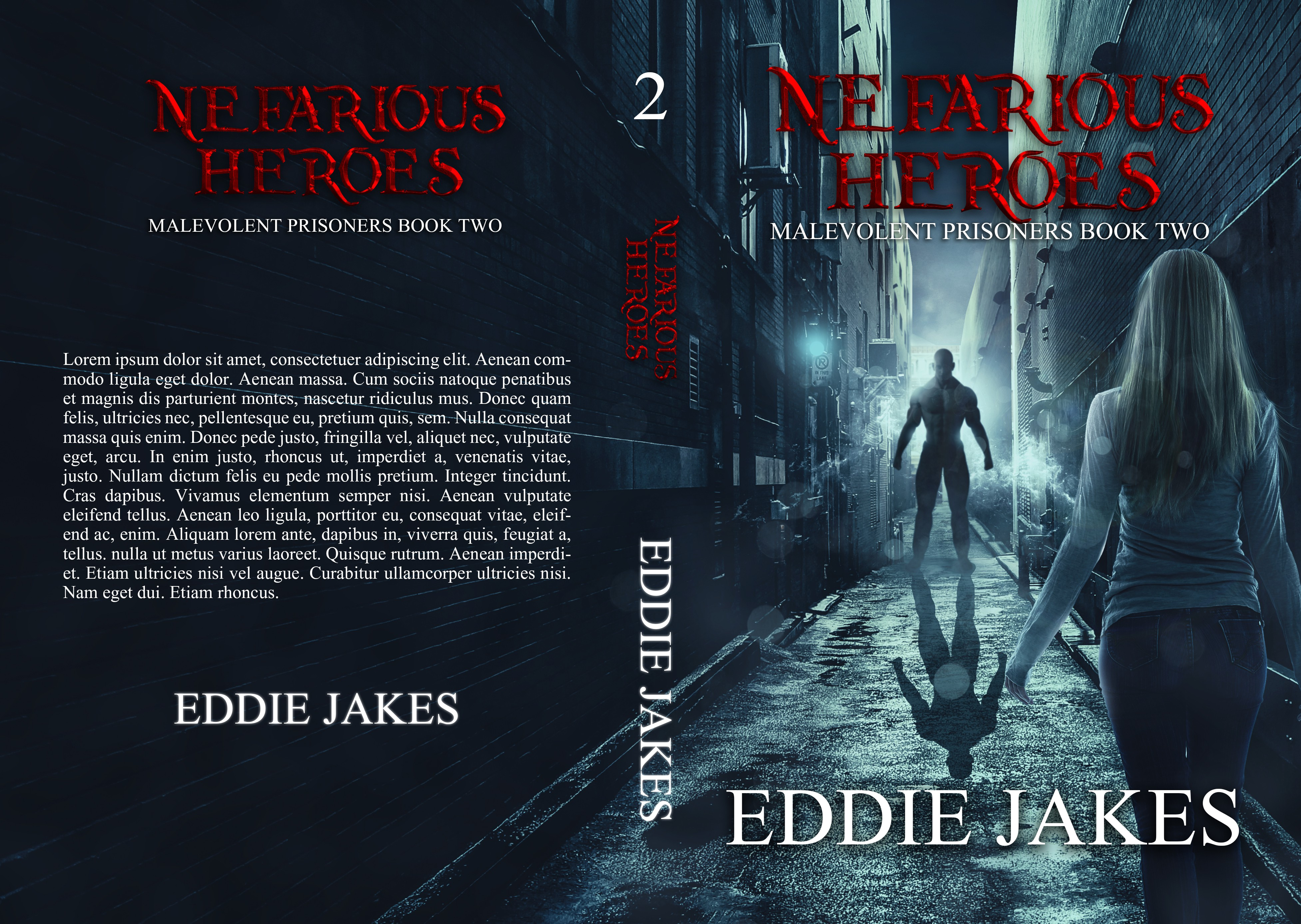 Bookcover for the Second Book in my Horror-Thriller series