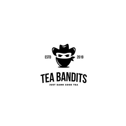 Logo design for Tea Bandits