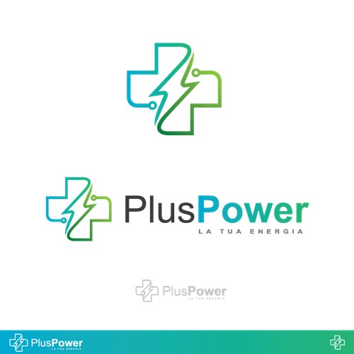 Plus power logo