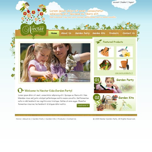 Website Design - Nectar