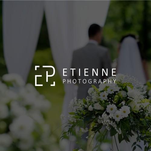 Modern, minimalist logo design for Wedding Photographer