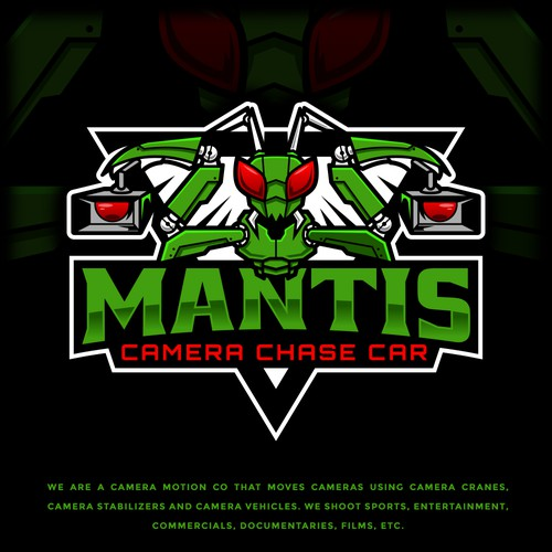 Mantis Camera Chase Car