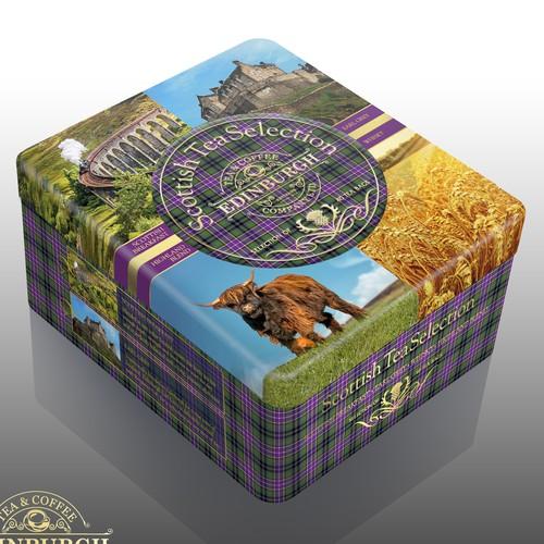 Scottish Tea Selection Gift-box