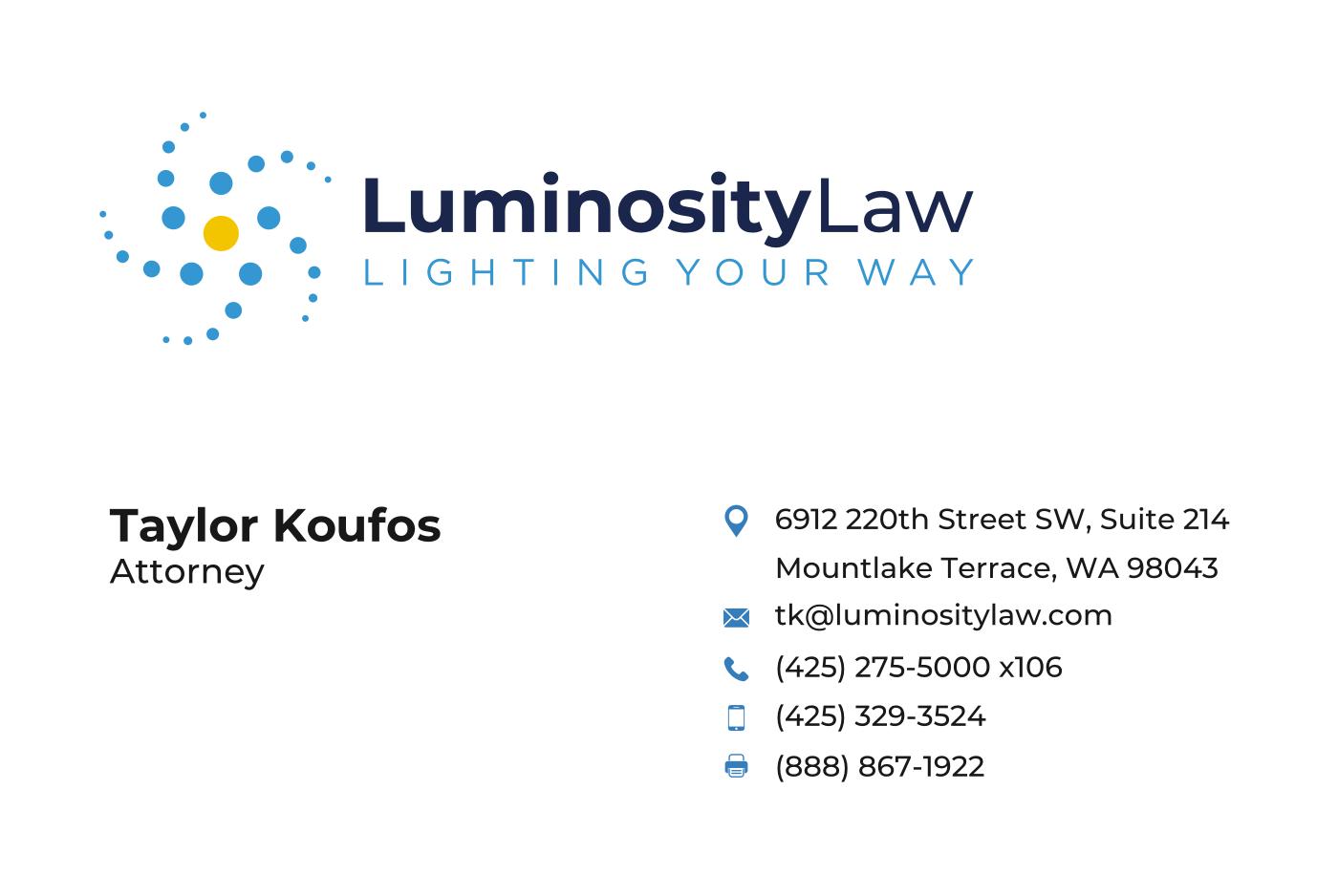 Luminosity Law