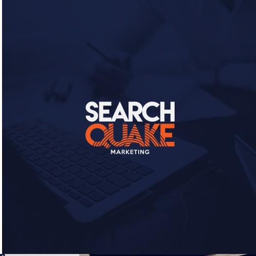 Bold logo for Search Quake Marketing