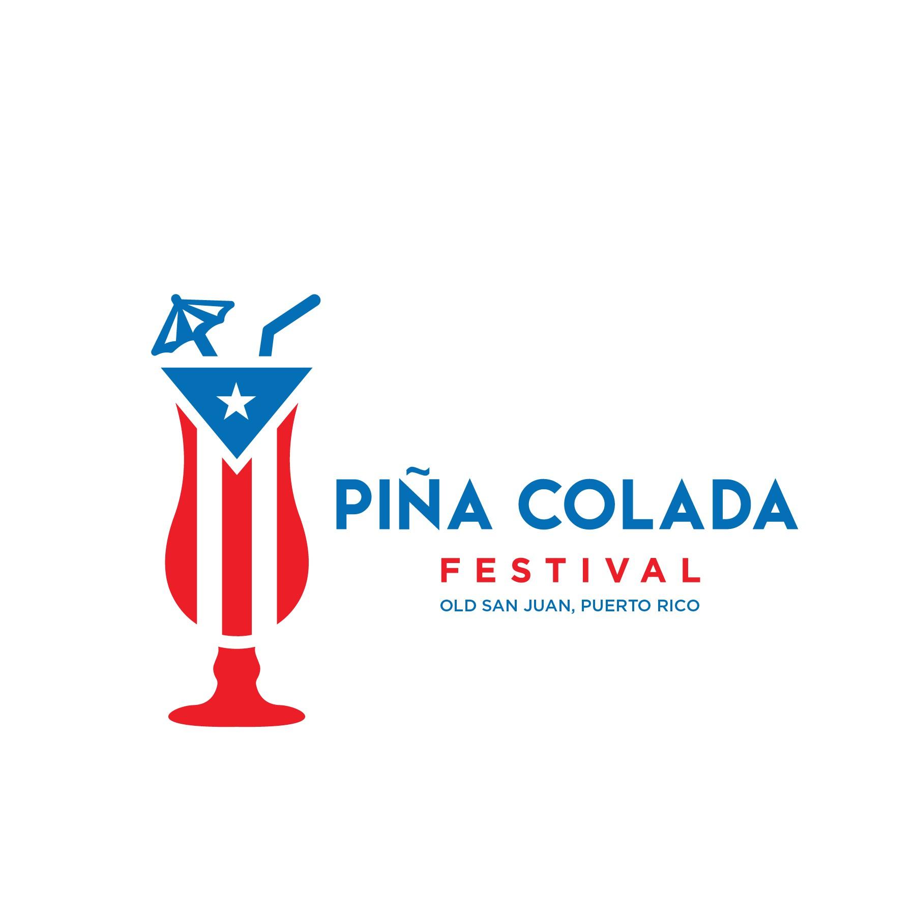 Piña Colada Festival Logo and Branding Package