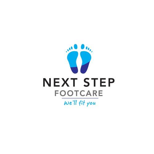 logo for Next Step Footcare