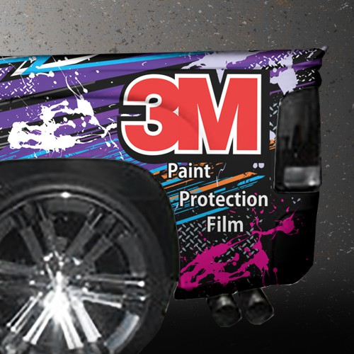 The Auto Protectors needs a crazy, colorful, eye catching race-truck wrap!