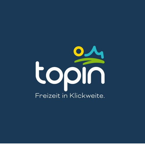 New logo for topin.travel