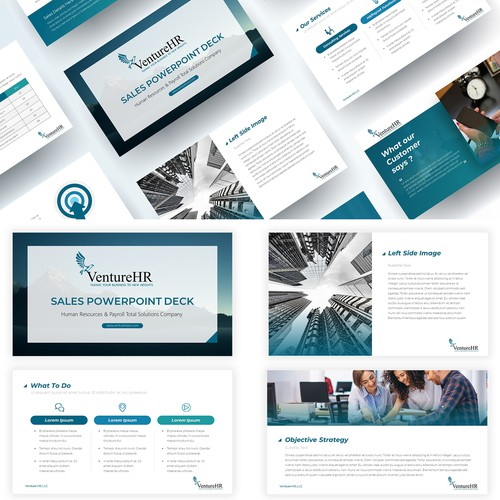 Business Marketing Materials - PPT