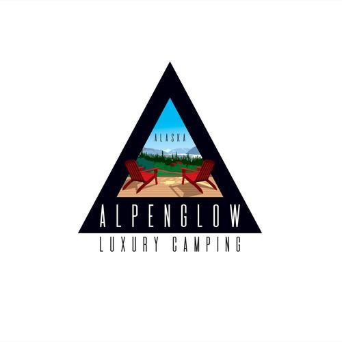 Create a unique Alaskan Glamping Logo