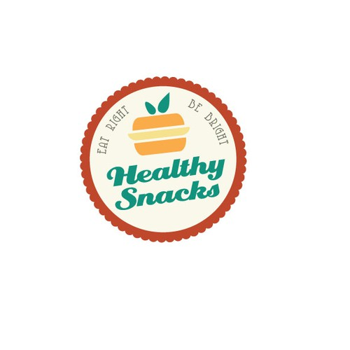 Create New Healthy snacks logo