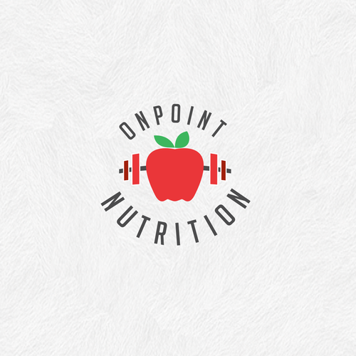 Nutrition and fitness logo