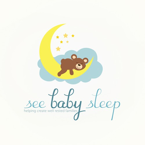 Baby sleep | Logo design