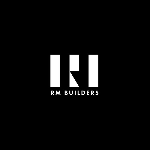 Bold Logo Concept for RM Builders