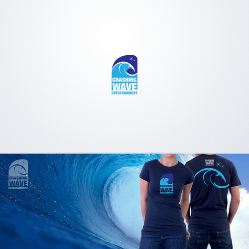 Crashing Wave Entertainment needs a new logo