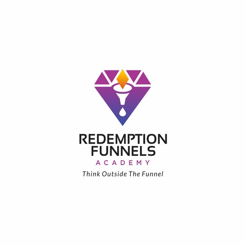 Logo concept for Redemption Funnels Academy