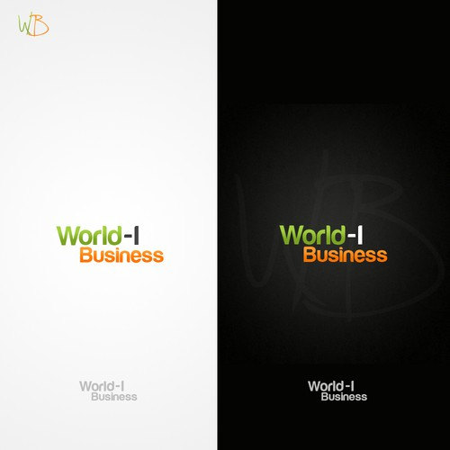 Simple and Impressive logo wanted for World-I Business.