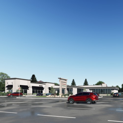 Plaza Exterior Design & Visualization