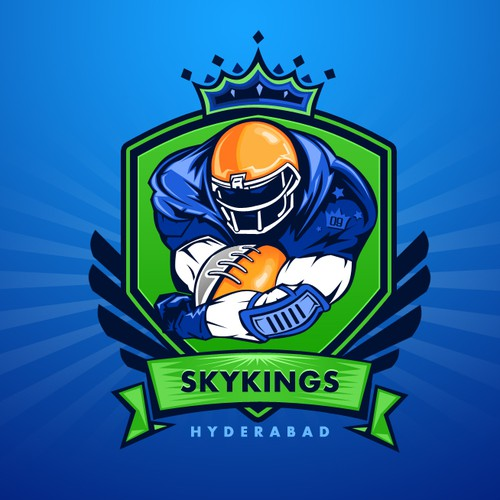 logo for Hyderabad  Skykings