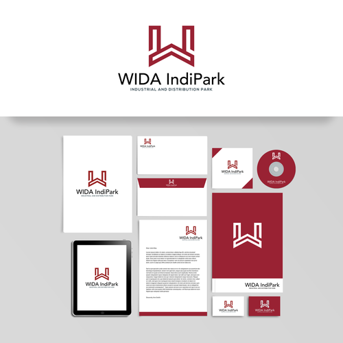 Eye-catching logo for WIDA IndiPark