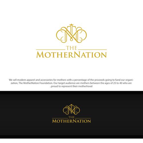 shophisticated logo to represent their motherhood
