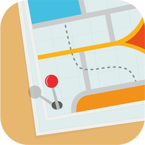 App Icon for OnSite Time Tracker  (has 30,000 downloads)