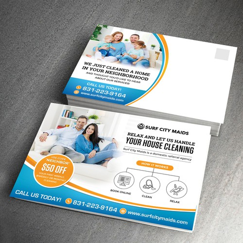 House Cleaning Company Postcard