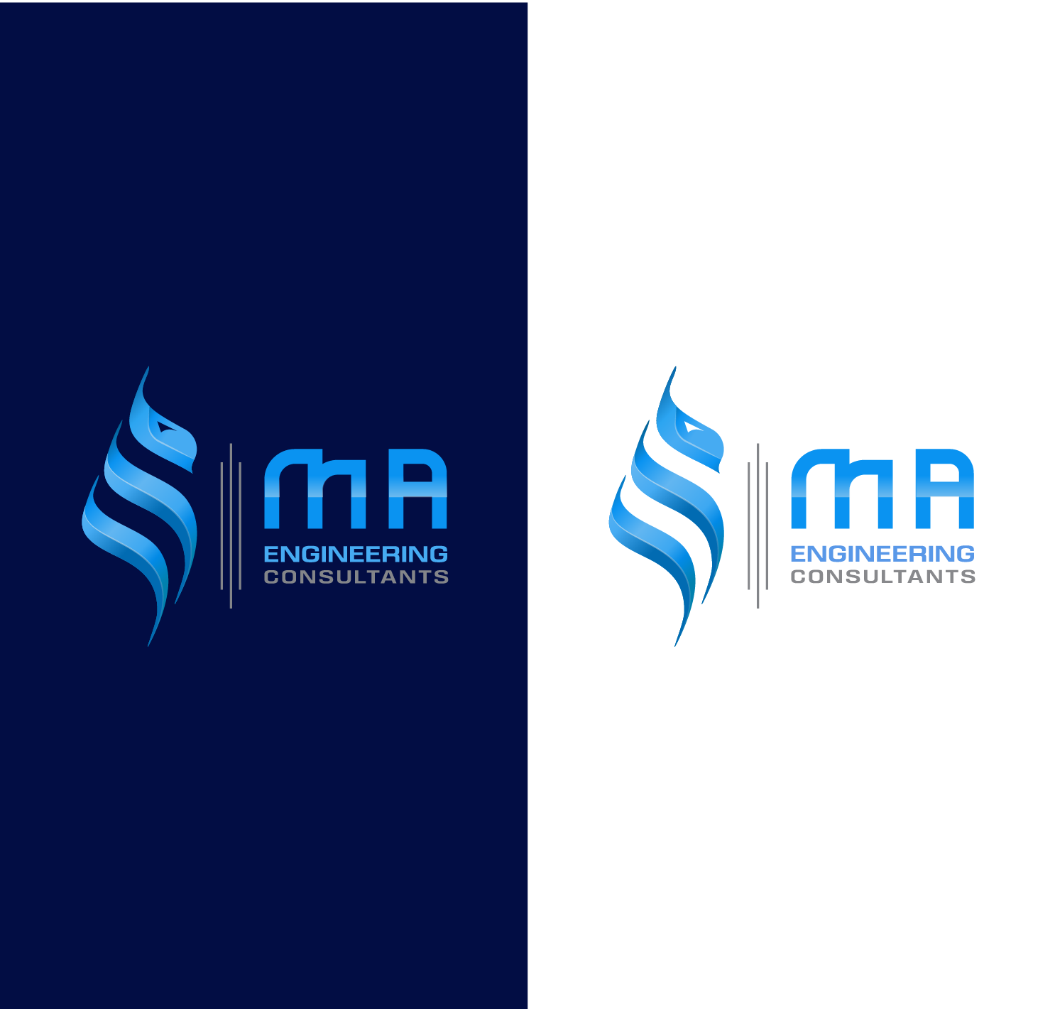 Design a Structural and Civil Design Engineering logo with Arabic Calligraphy