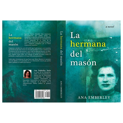 "Book cover for ""La hermana del masón"""