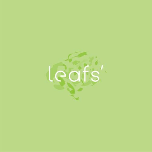 clean logo for LEAF'S