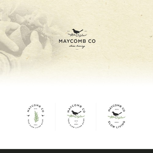 Logo concept for Gardening Business