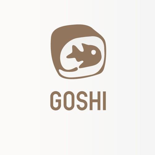 Logo for Goshi, a sushi restaurant