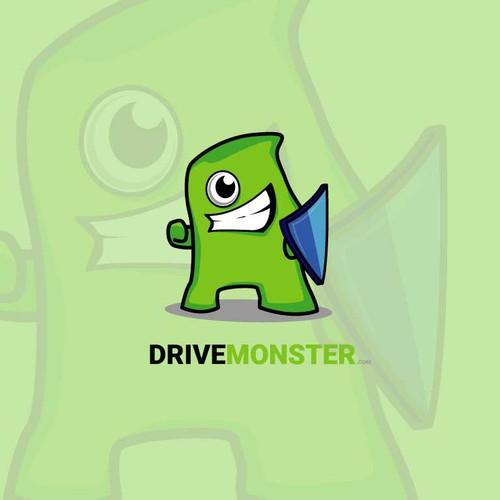 Logo concept for drivemonster.com