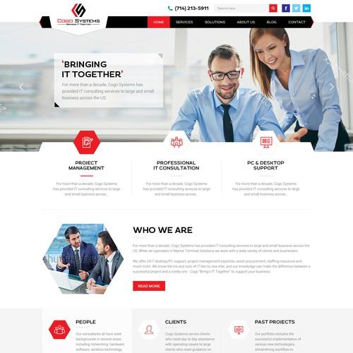 An IT service company