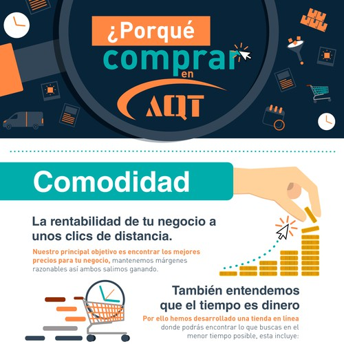 Infographic Design for Big Online Store