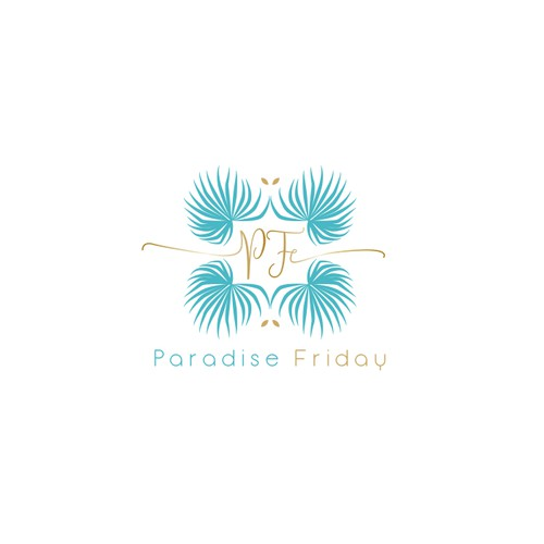 Logo with a tropical flair for concierge company in Florida