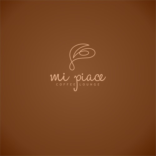 logo for MI PIACE coffee lounge