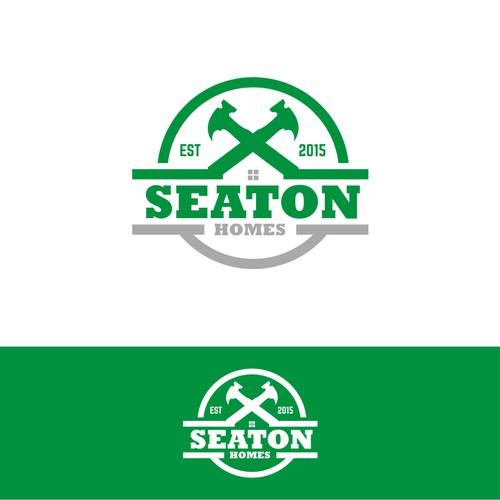 logo for seaton homes